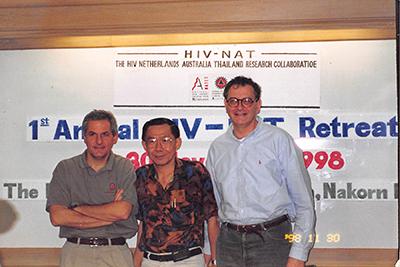 Co-directors of HIV-NAT in 1998